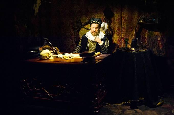 Obraz původně patřil ke sbírkám Rudolfa II.