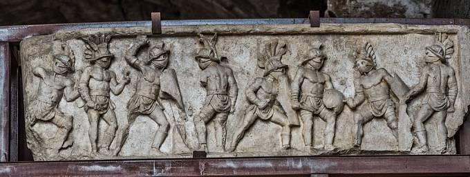 Gladiátorské zápasy se těšily velké popularitě.