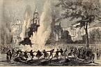 Epidemie cholery v Marseille.