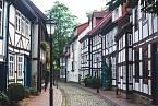 Ulice města Hameln dnes
