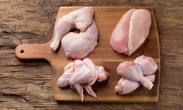 Porce kuřete budou úhledné, jako od šéfkuchaře.