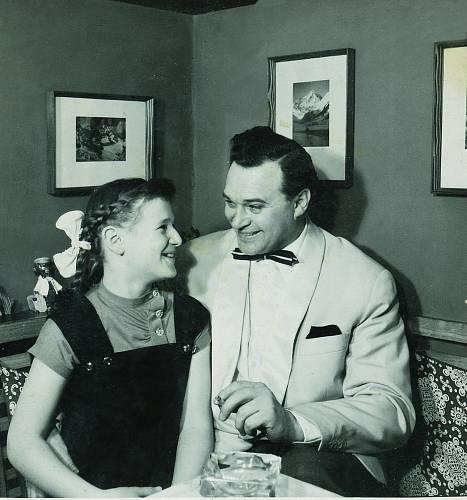 S dcerou Dášou, která se pod otcovým vedením stala zpěvačkou.