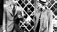 """Ferbasové říkali """"komik v sukních"""" a patřila mezi nejpopulárnější herečky v prvorepublikovém filmu. Na fotografii je s Ladislavem Peškem v komedii Uličnice z roku 1936."""