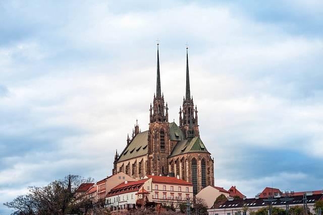 Petrov, katedrála z počátku 20. století