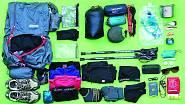 Viktorka nosí ultralehký batoh, který váží kolem sedmi set gramů a v něm má maximálně pět kilo outdoorového vybavení plus zásoby.