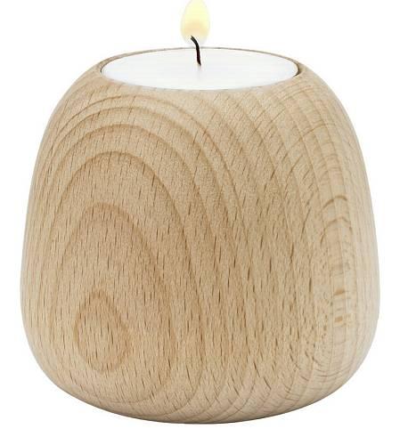 Dřevěný svícen, Luxurytable.cz, 820 Kč
