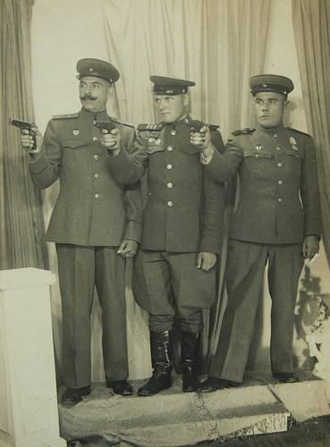 Vladimír Orlov 1945 - vlevo