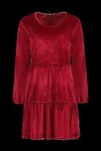 Sametové šaty, F&F, 399 Kč