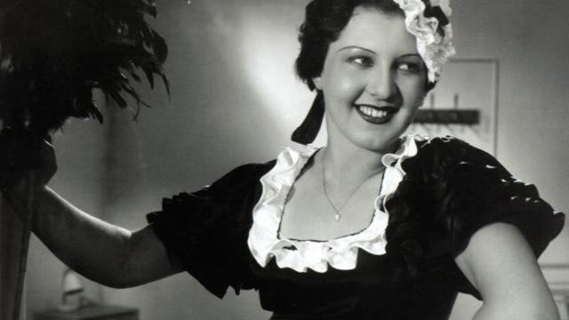 Ljuba Hermanová v komedii z roku 1933 Jsem děvče s čertem v těle.