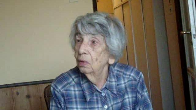 Ruth Bejkovská v říjnu 2012