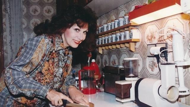 Saskia Burešová na archivním snímku