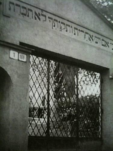 brána do židovského hřbitova v Žilině