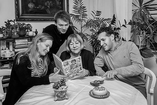 Tohle byla rodinná sestava, která spolu nejenom vařila, ale taky ochutnávala.