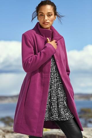 Barevný kabát