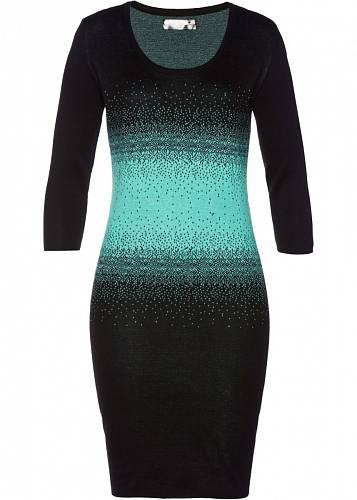 Úpletové šaty, Bonprix, 599 Kč