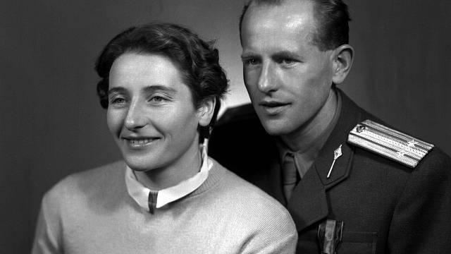 Nejslavnější sportovní dvojice: Dana a Emil Zátopkovi se vzali v roce 1948 a žili spolu přes padesát let