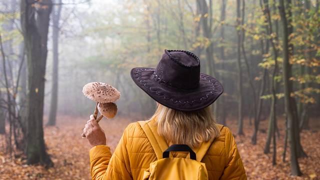 Neztrácejte styl ani na houbách