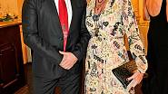 Martin s manželkou Danielou.
