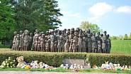 Pomník 82 zemřelých lidických dětí (2014)