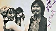 Na P. F. 1976 s manželem Janem Vaculíkem.