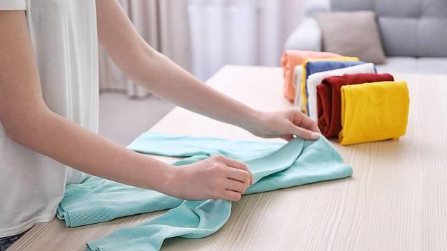 Jak správně složit prádlo