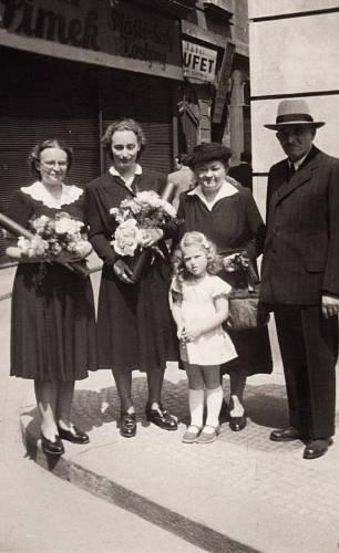 Jarmila Weinbergerová, promoce v roce 1950