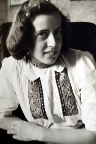 Marie Antošová ve svých 16ti letech