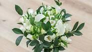 Z čerstvých růží, tulipánů, kal a alstromerií je složená tahle něžná kytice ze Světa růží.