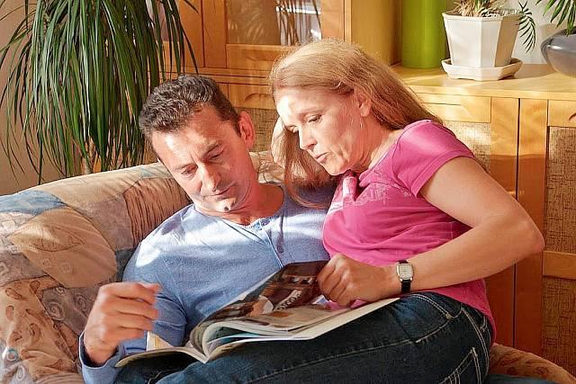 S Ondřejem Vetchým hráli rodiče ve filmu Jiřího Mádla Pojedeme k moři.