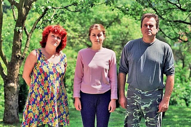 Kateřina Šedá s rodiči