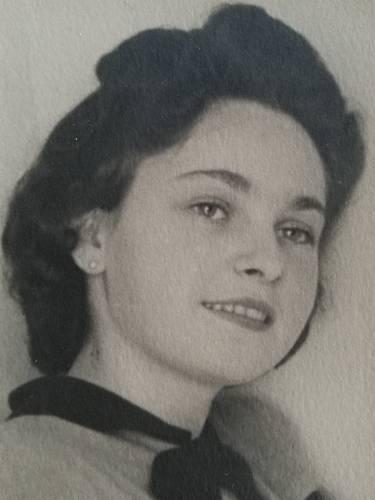 Irena Racková - dobová fotografie