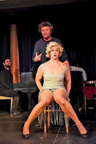 Jako Marilyn Monroe v Městském domě v Kolíně.