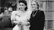Lída Baarová v komedii Artur a Lenontýnka s herečkou Zitou Kabátovou z roku 1940