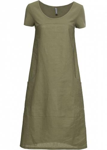 Lněné šaty, 899 Kč