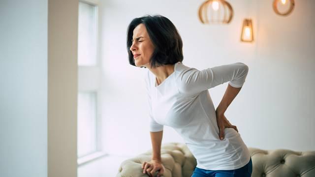 Na bolesti zad má vliv i dýchání