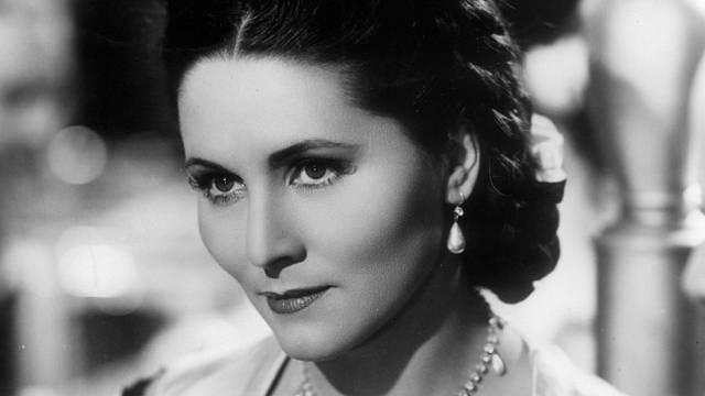 Marie Glázrová patřila k nejkrásnějším prvorepublikovým herečkám.