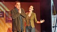 S Miroslavem Etzlerem v muzikálu Kvítek Mandragory v pražském Divadle Broadway..