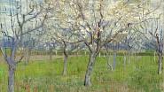 Van Gogha inspirovaly ke zpodobení kvetoucích stromů japonské tisky.