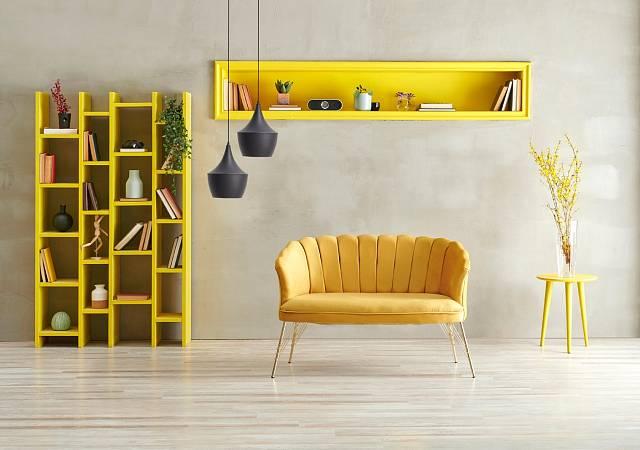 Sluníčkovou žlutou hledají lidé, kteří potřebují dodat energii.