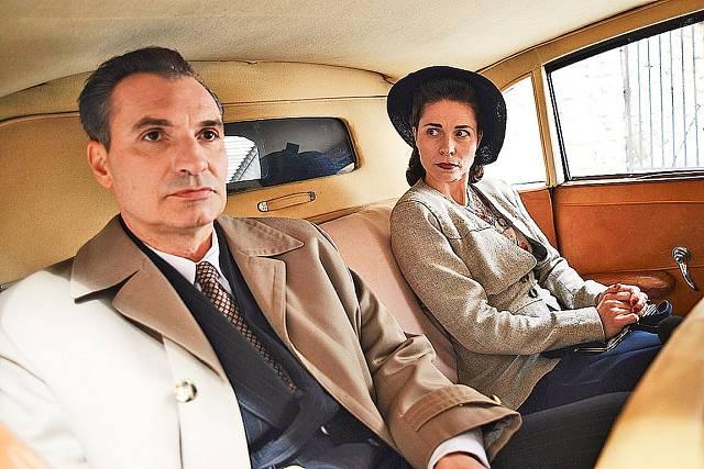 Katarína oblékala i film Toman.