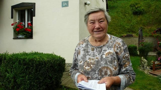 Marie Blabolilová v roce 2009