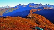 Divoké gruzínské hory Gudamakari.
