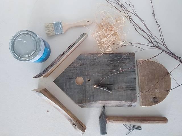 Co potřebujete k výrobě velikonočního hnízda