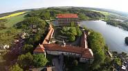Původní plumlovský hrad založil Přemysl Otakar II.