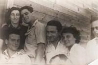 Michal po příjezdu do Izraele
