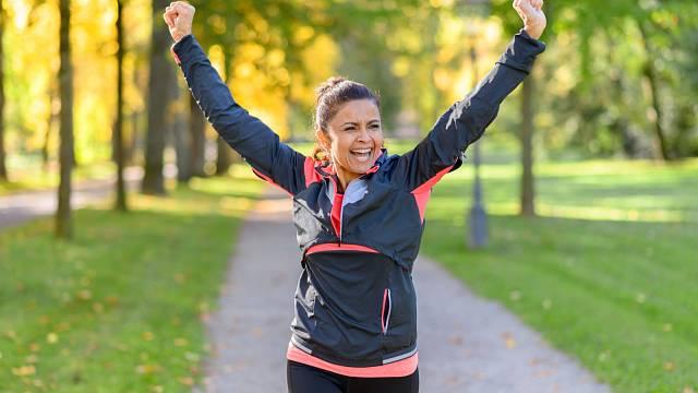 Veselá mysl neznamená automaticky správnou váhu, ale pomůže k ní