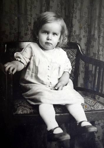 Marie Antošová dvouletá