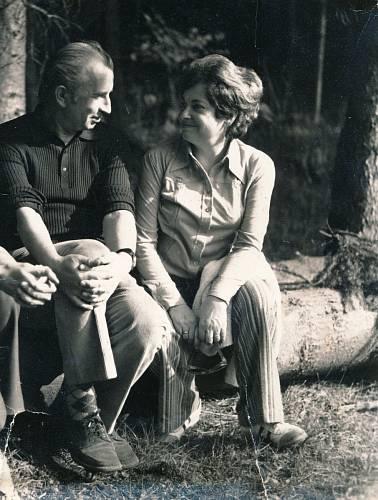 S manželem v Jevanech, 1965