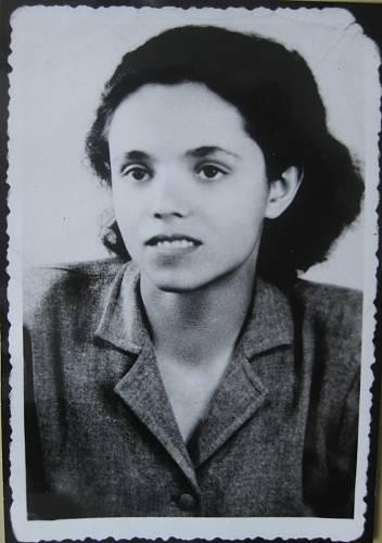 Helena Maršíková v roce 1945