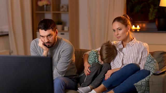 Manžel se raději věnuje svým koníčkům než rodině